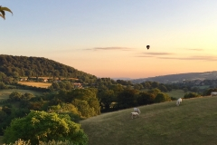 Balloon over Sheepscombe