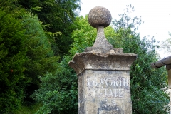 Ebworth Estate entrance pillar