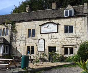 Butcher's Arms pub, Sheepscombe